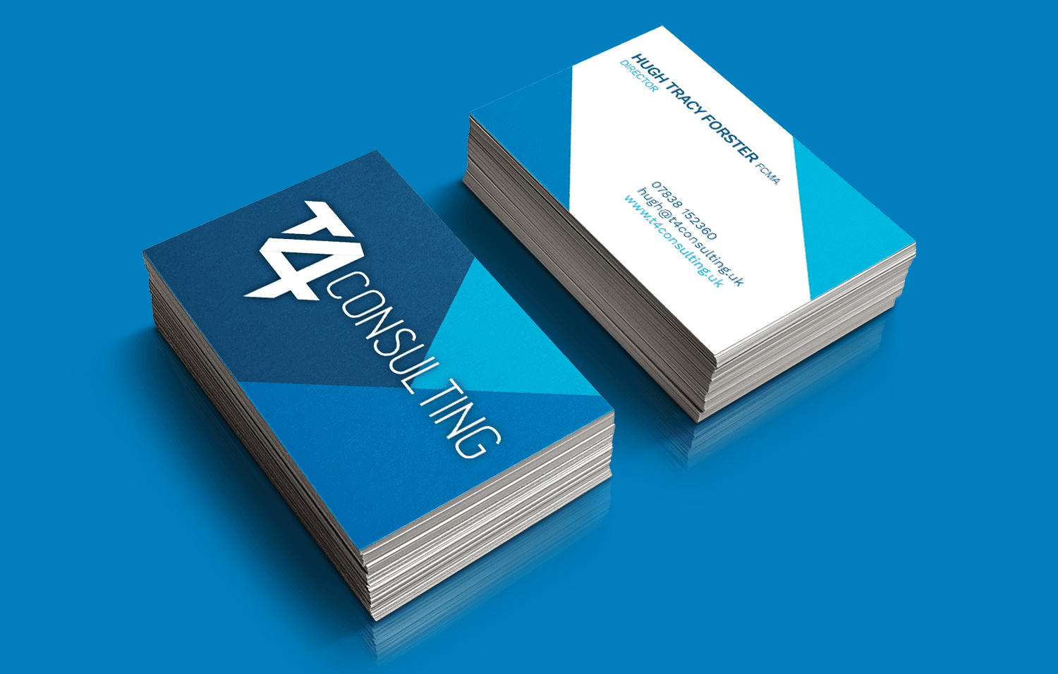 T4 Consulting business cards