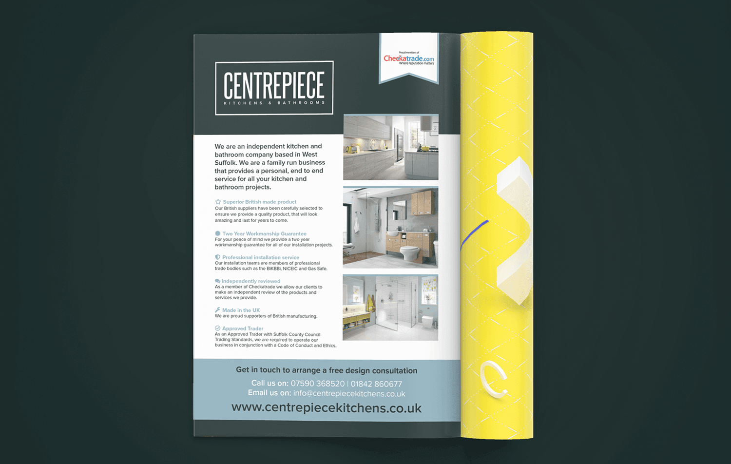 Centrepiece K and B Brochure