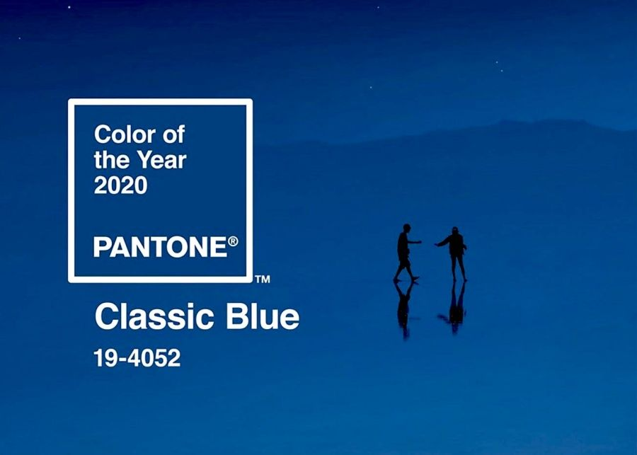 Pantone's colour of the year 2020 - Classic Blue